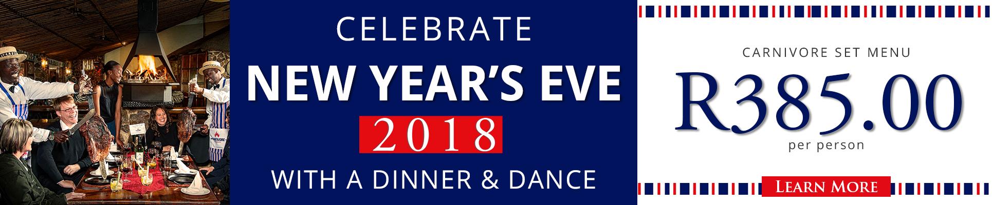 Carnivore Restaurant New Years Eve Dinner and Dance, Muldersdrift restaurants