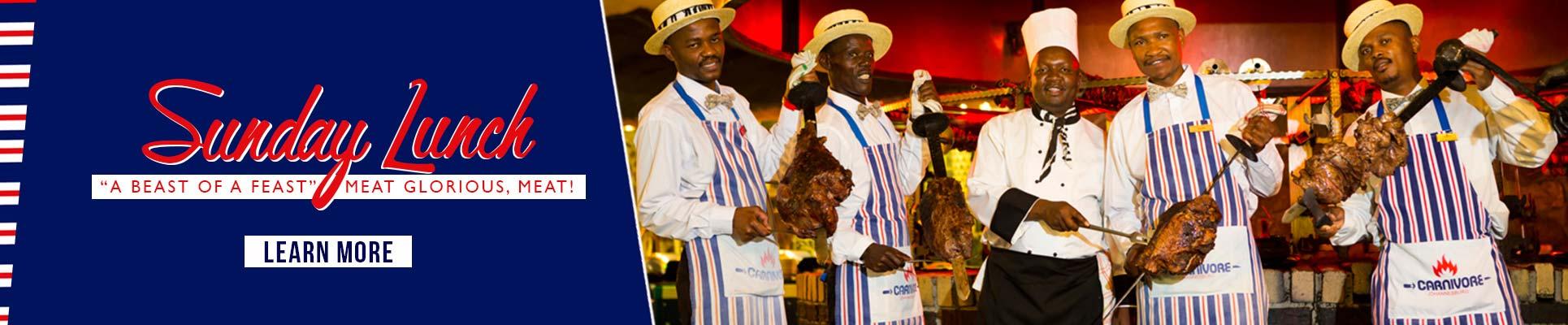 Carnivore Restaurant Sunday Lunch in Muldersdrift Gauteng