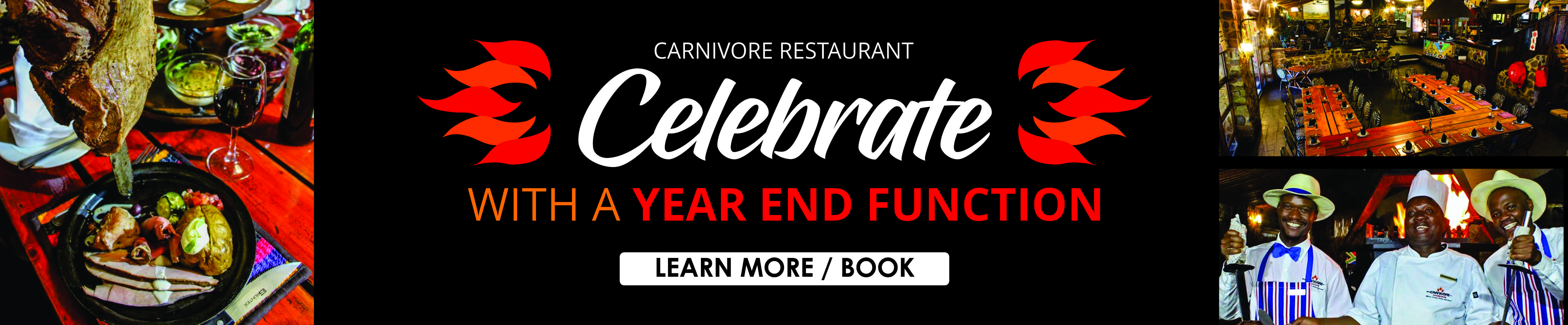 Carnivore Restaurant Year End Functions